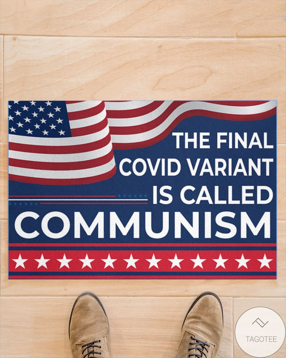 Mother's Day Gift The Final Covid Variant Is Called Communism Doormat