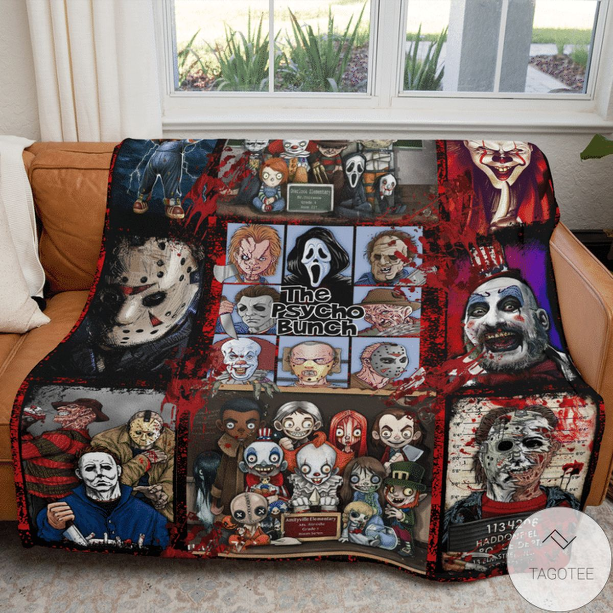 Gorgeous The Psycho Punch Blanket