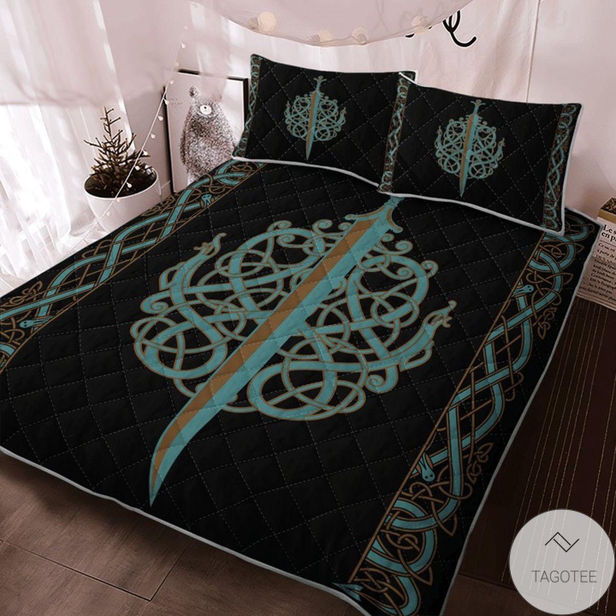 eBay The Ulfberht Swords Viking Quilt Bedding Set