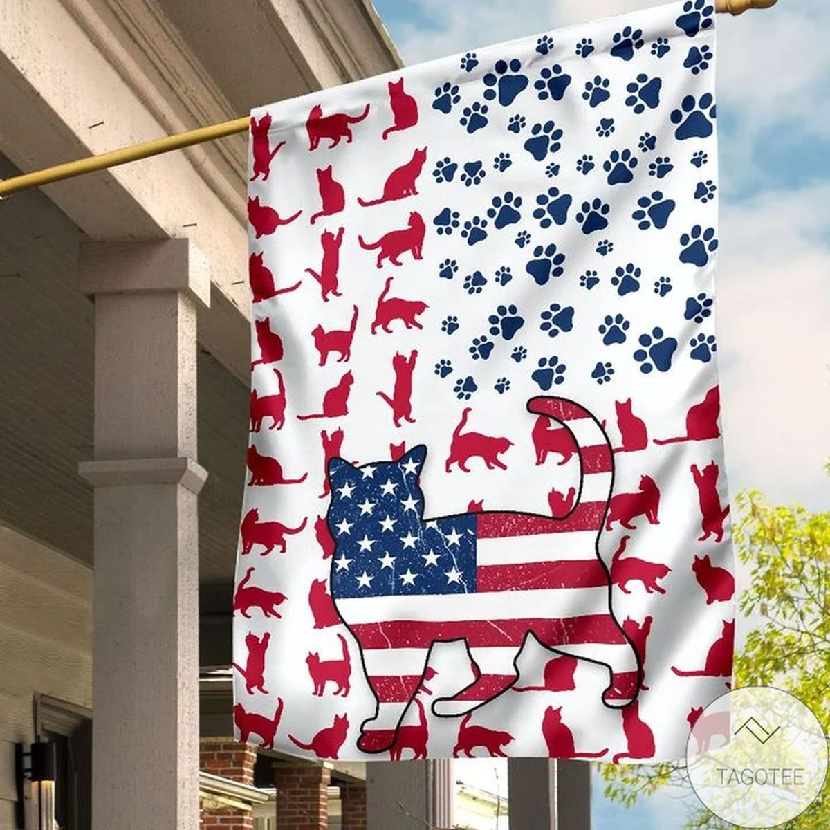 Where To Buy US Cat Lovers Flag