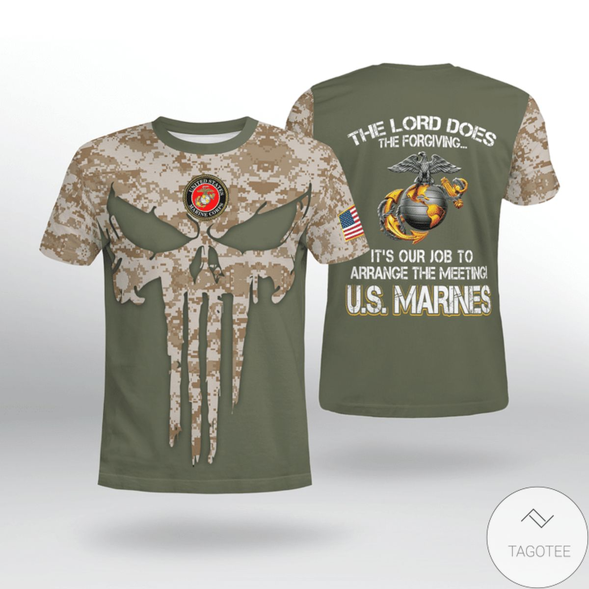 USMC The Lord Does The Forgiving Shirt