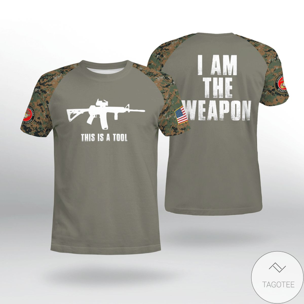 USMC This Is The Tool I Am The Weapon Shirt