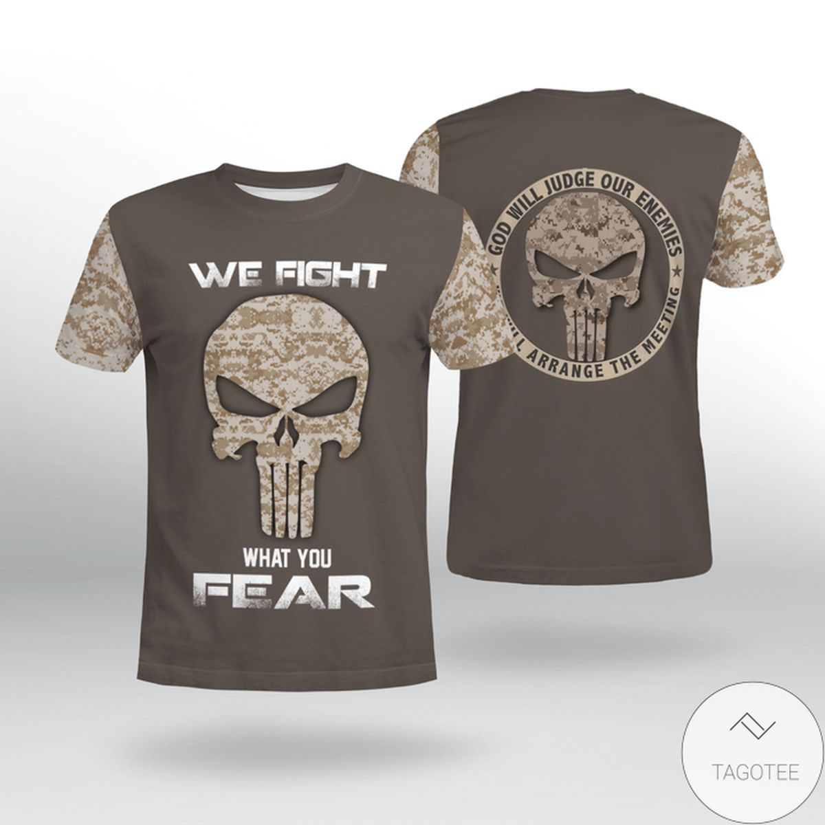 Discount USMC We Fight What You Fear Shirt