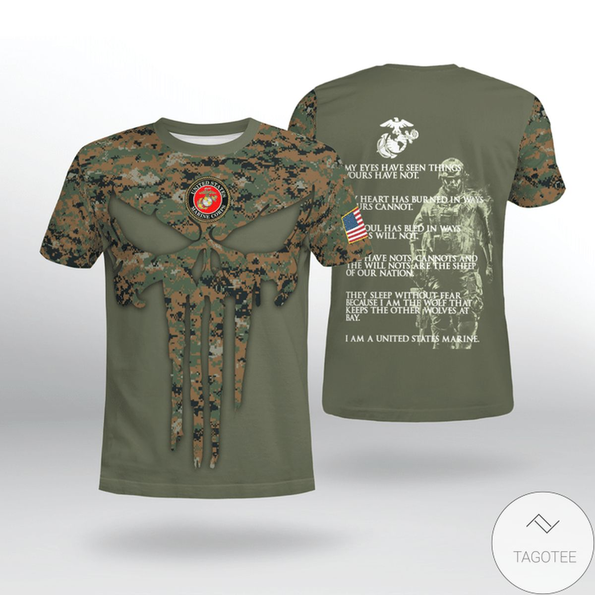 Perfect Usmc My Eyes Have Seen Things Yours Have Not Shirt