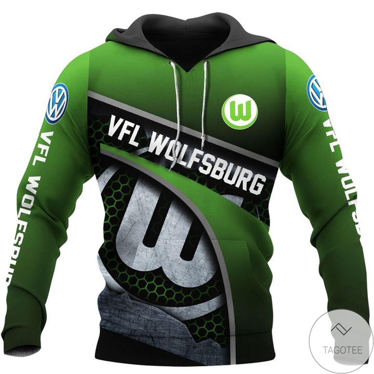 VFL Wolfsburg Logo Hoodie