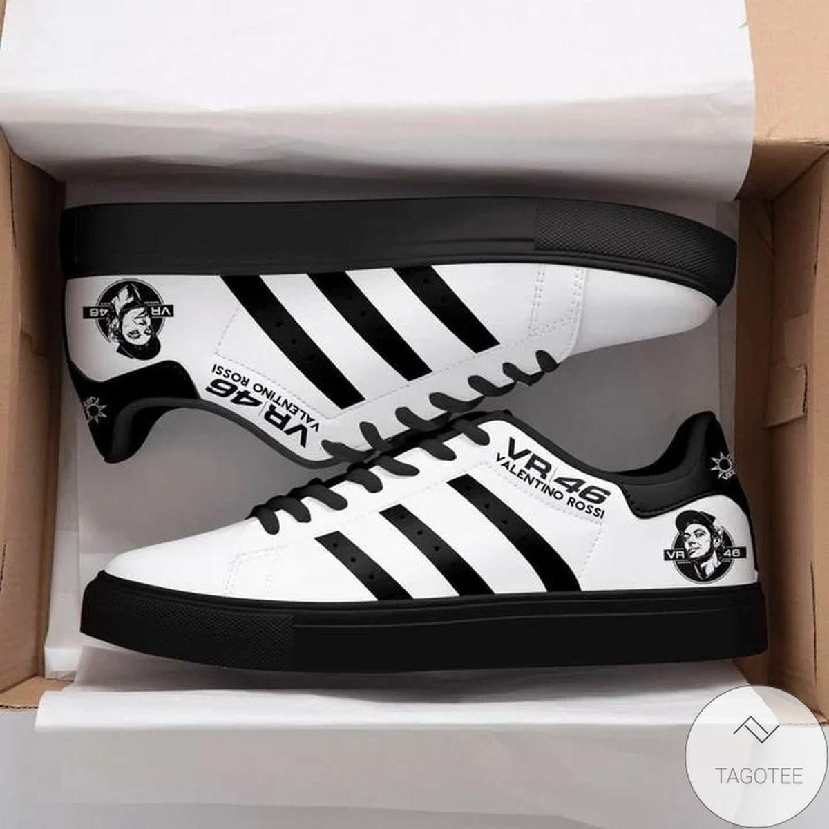 Unique Valentino Rossi Vr46 White Stan Smith Shoes