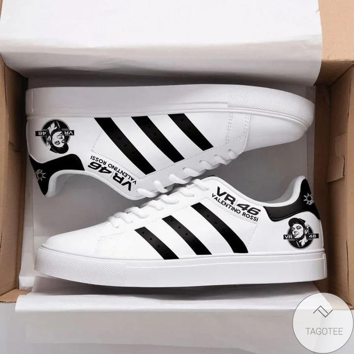 Fantastic Valentino Rossi Vr46 White Stan Smith Shoes