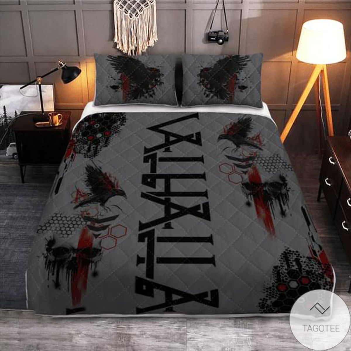 Valhalla Quilt Bedding Set
