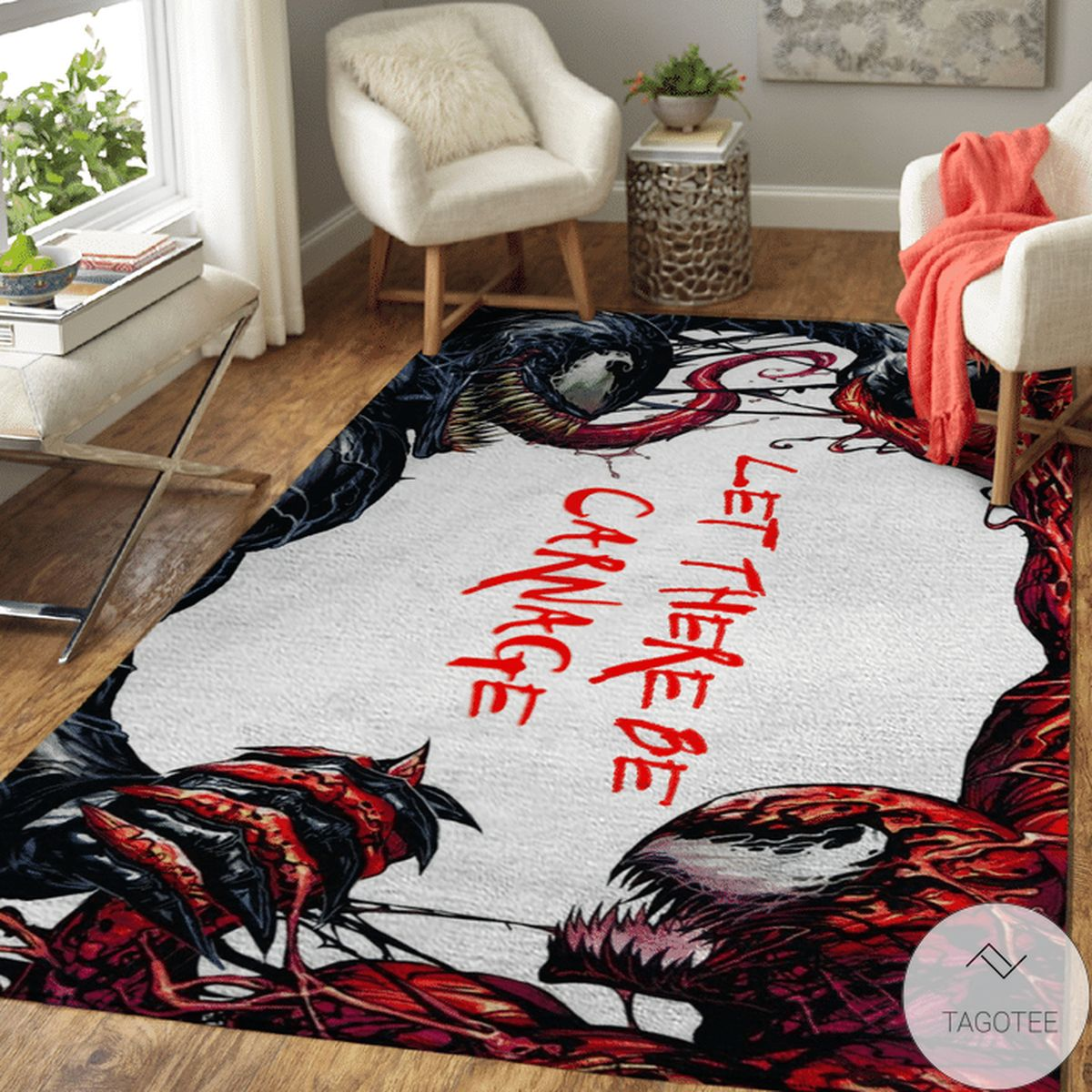 Venom Carnage Rug
