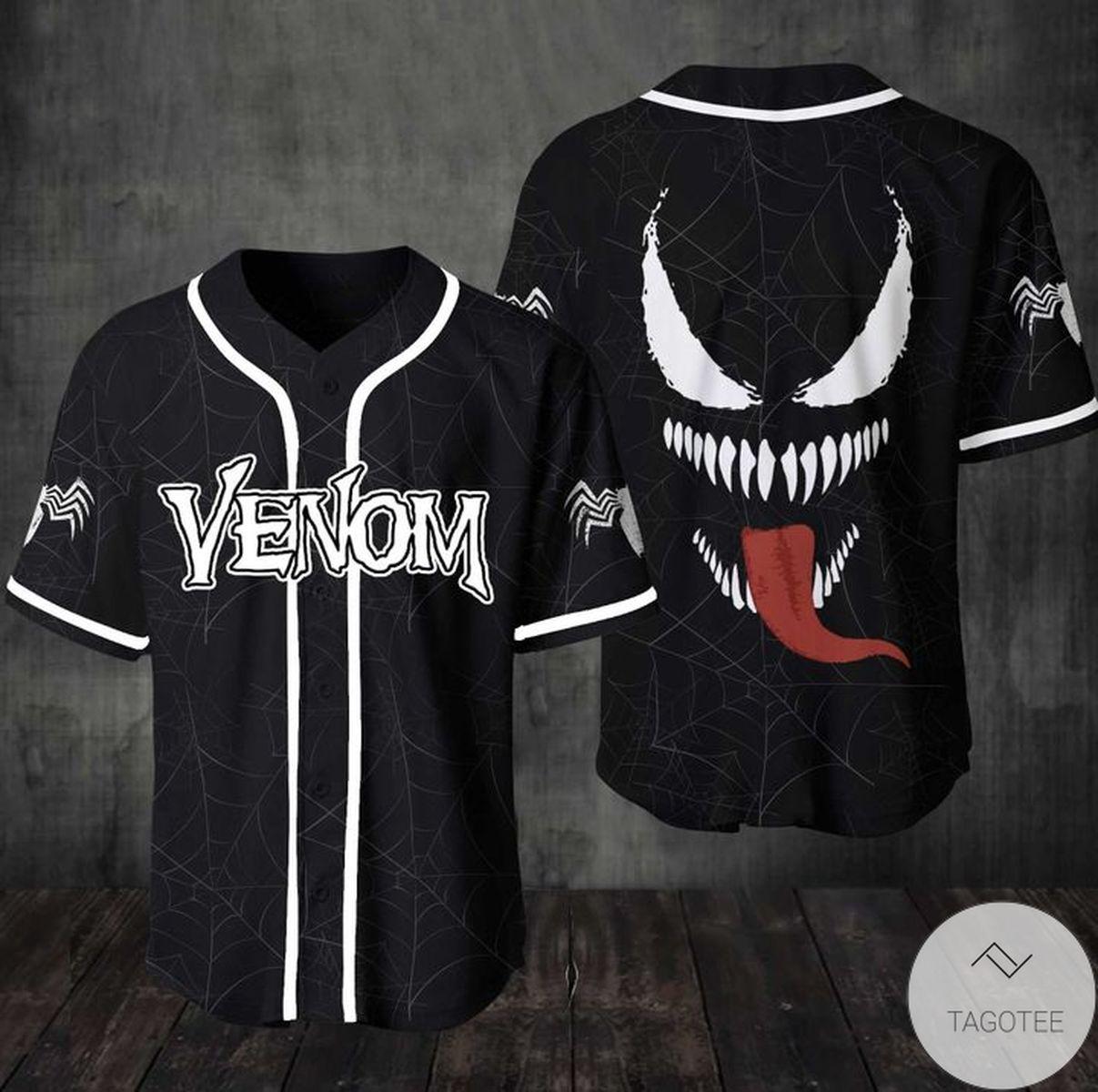Awesome Venom Jersey Baseball Jersey