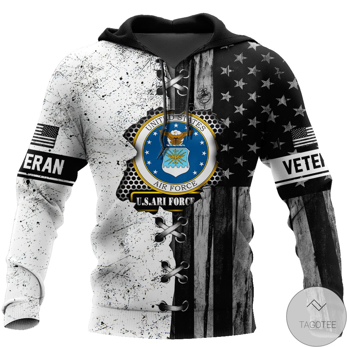 Awesome Veteran Us Air Force In My Heart 3D All Over Print Hoodie