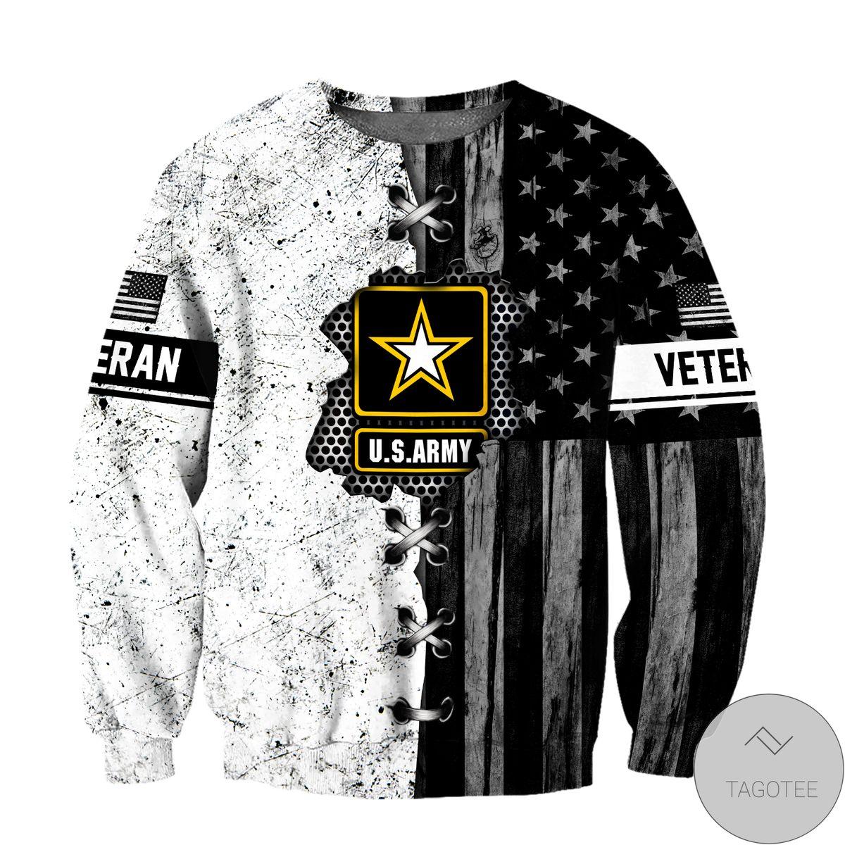 Veteran Us Army In My Heart 3D All Over Print Hoodie x