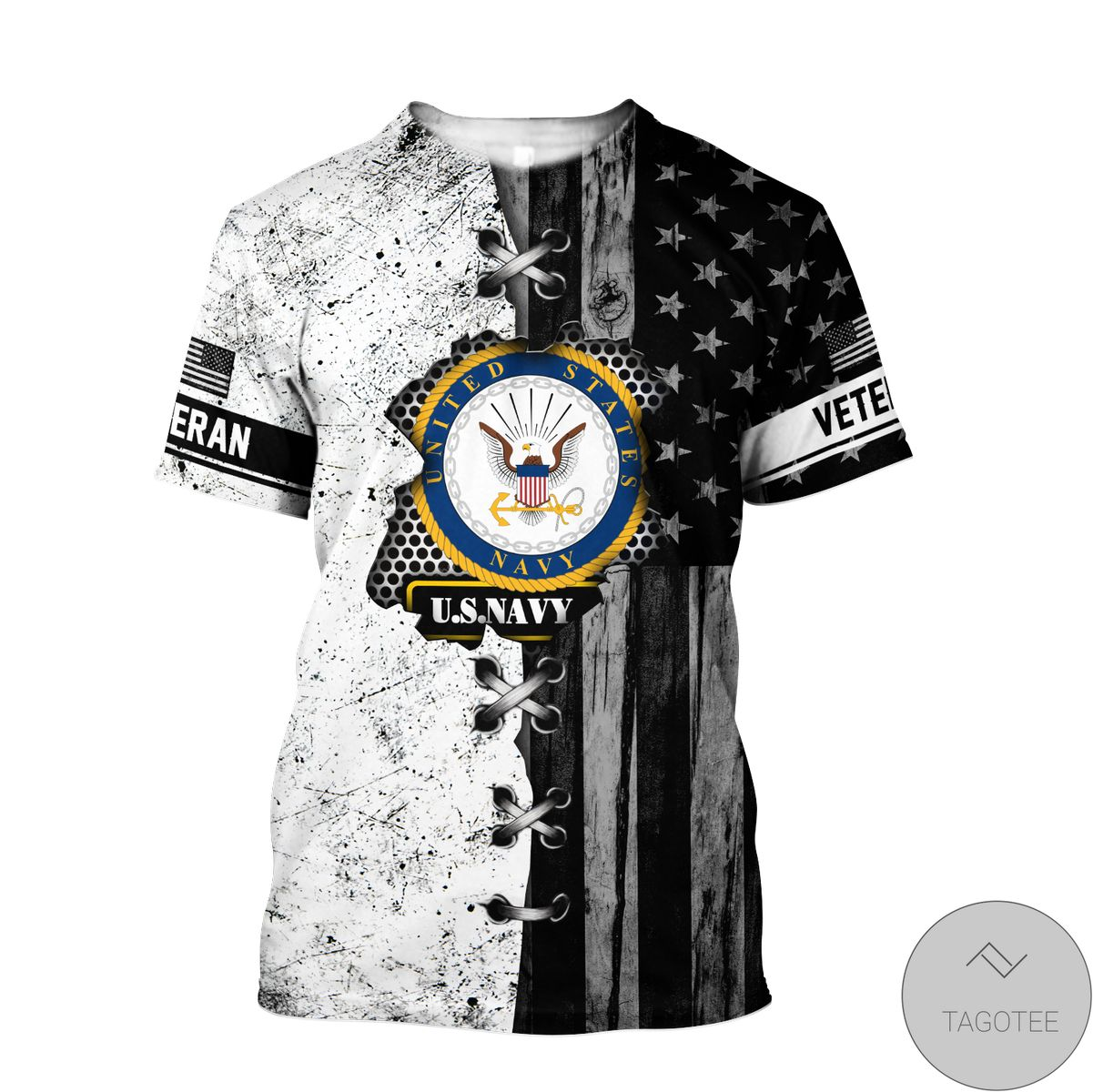 Buy In US Veteran Us Navy In My Heart 3D All Over Print Hoodie