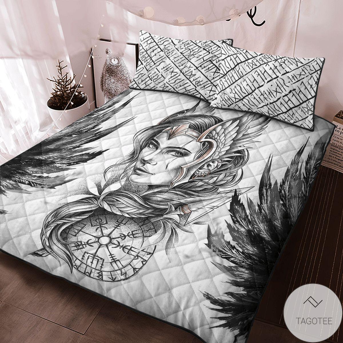 US Shop Viking Valkyrie Quilt Bedding Set