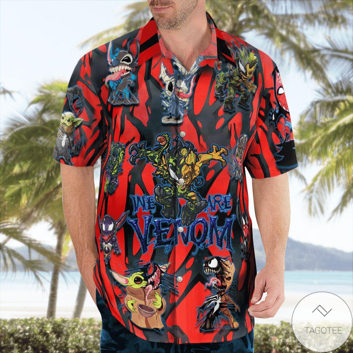 We Are Venom Hawaiian Shirt