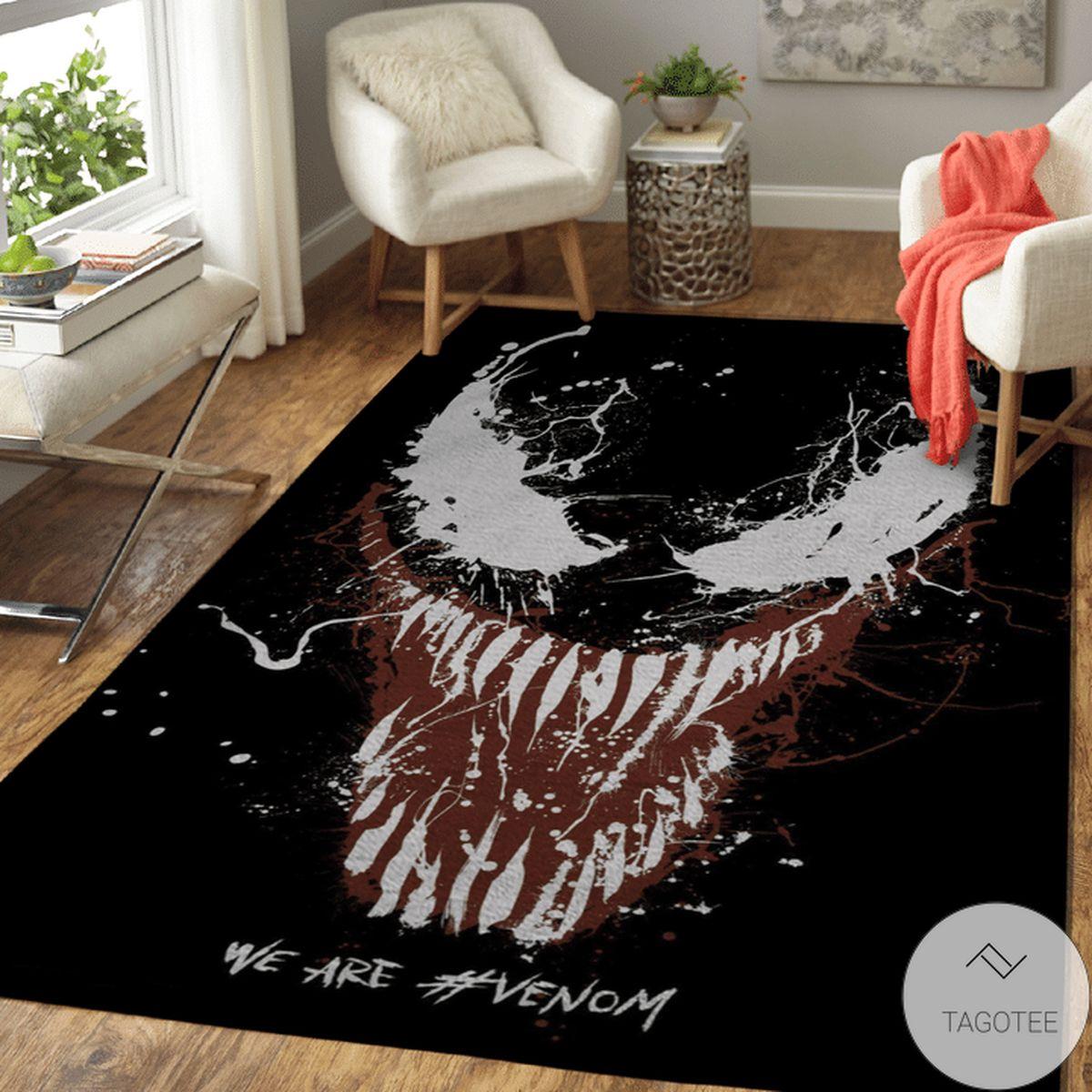 We Are Venom Rug