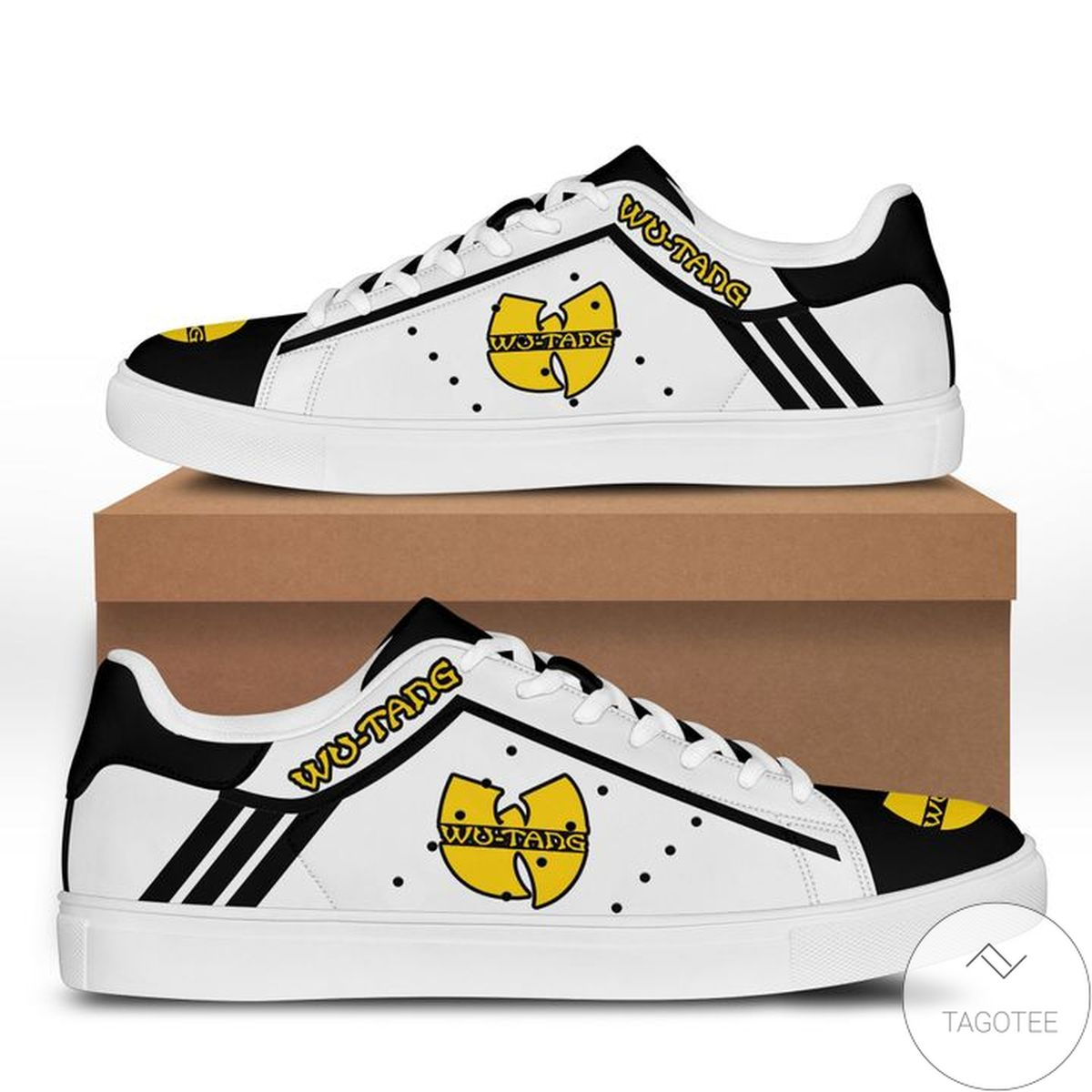Funny Tee Wu-tang Black Stan Smith Shoes