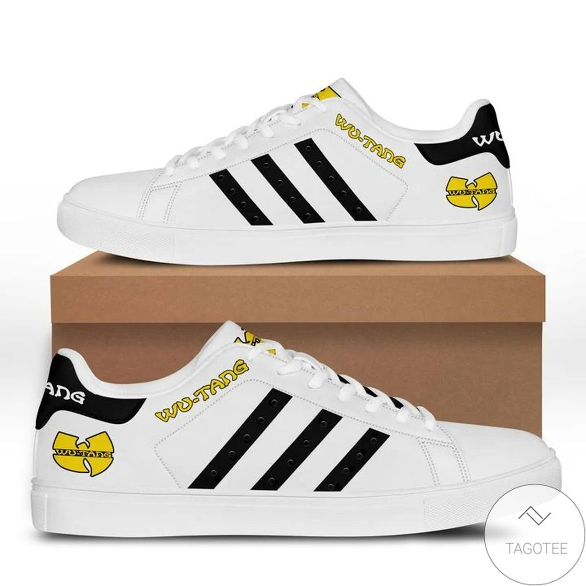 Ships From USA Wu-tang Clan Stan Smith Shoes
