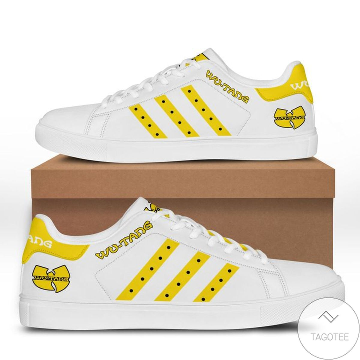 Top Rated Wu-tang Yellow Stan Smith Shoes
