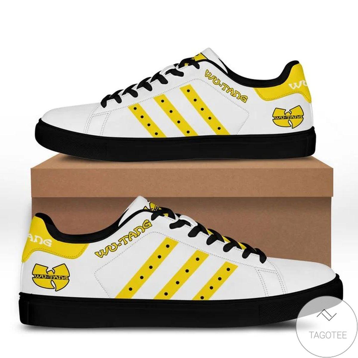 Wu-tang Yellow Stan Smith Shoes