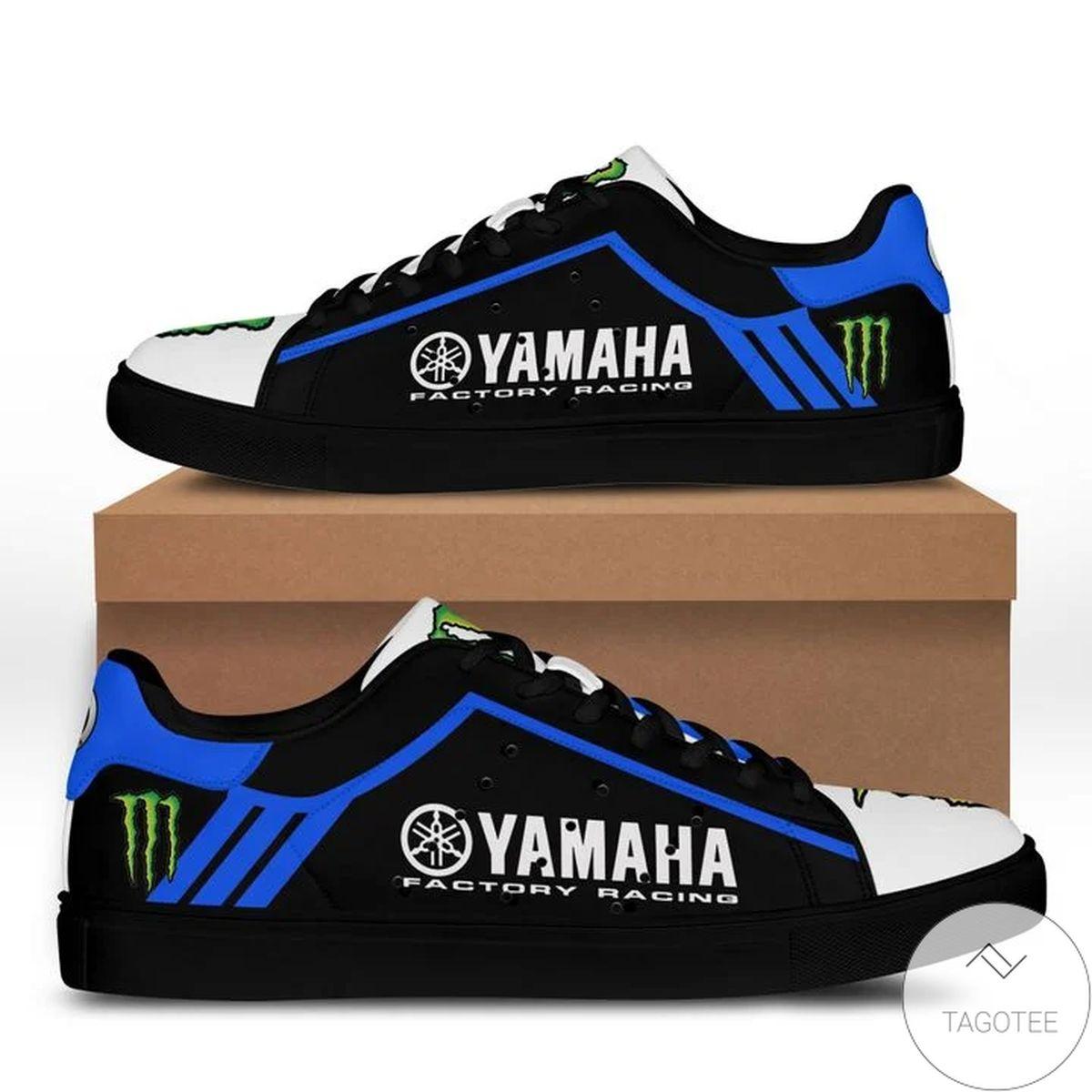 Yamaha Racing Blue Stan Smith Shoes