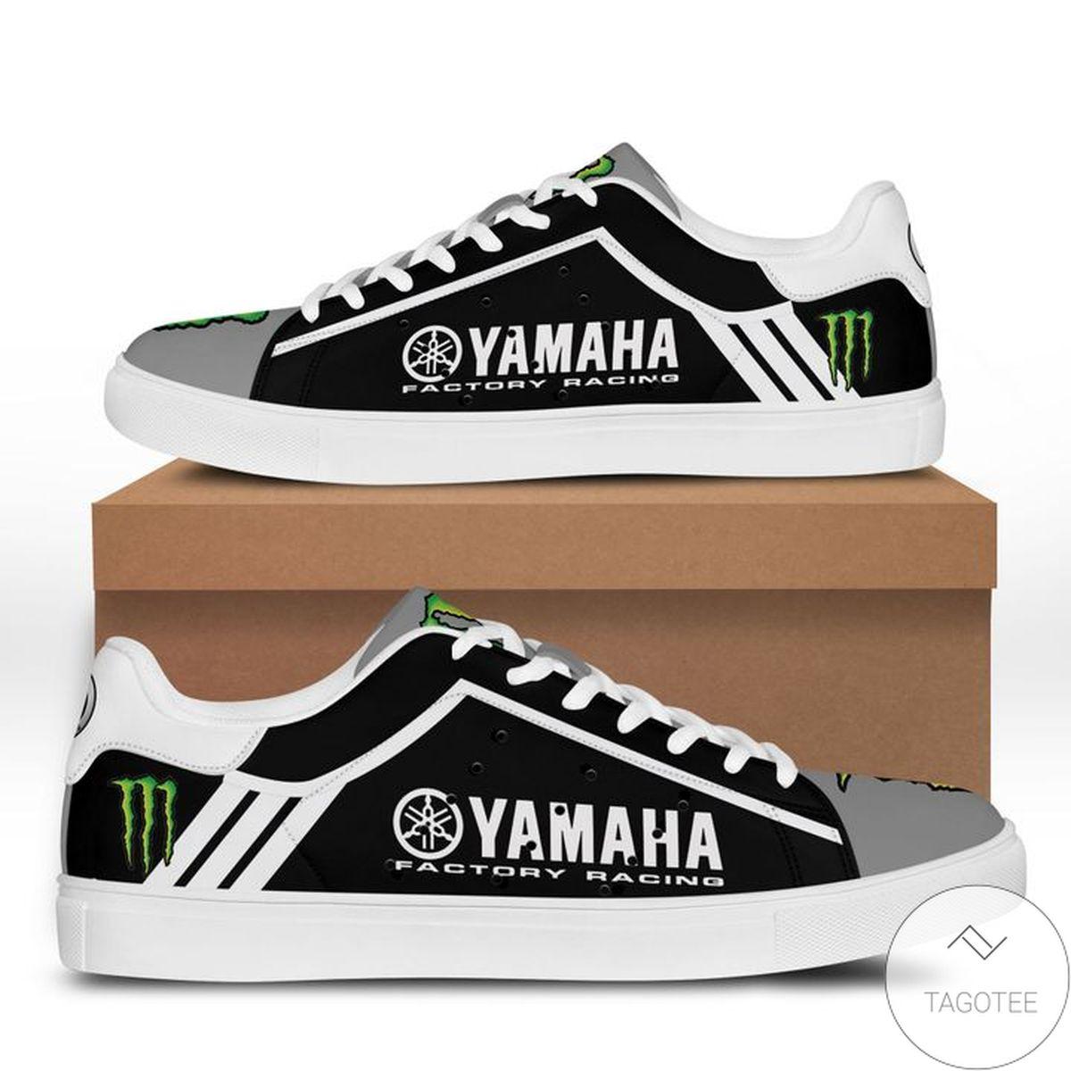 Fast Shipping Yamaha Racing Monster Black Stan Smith Shoes