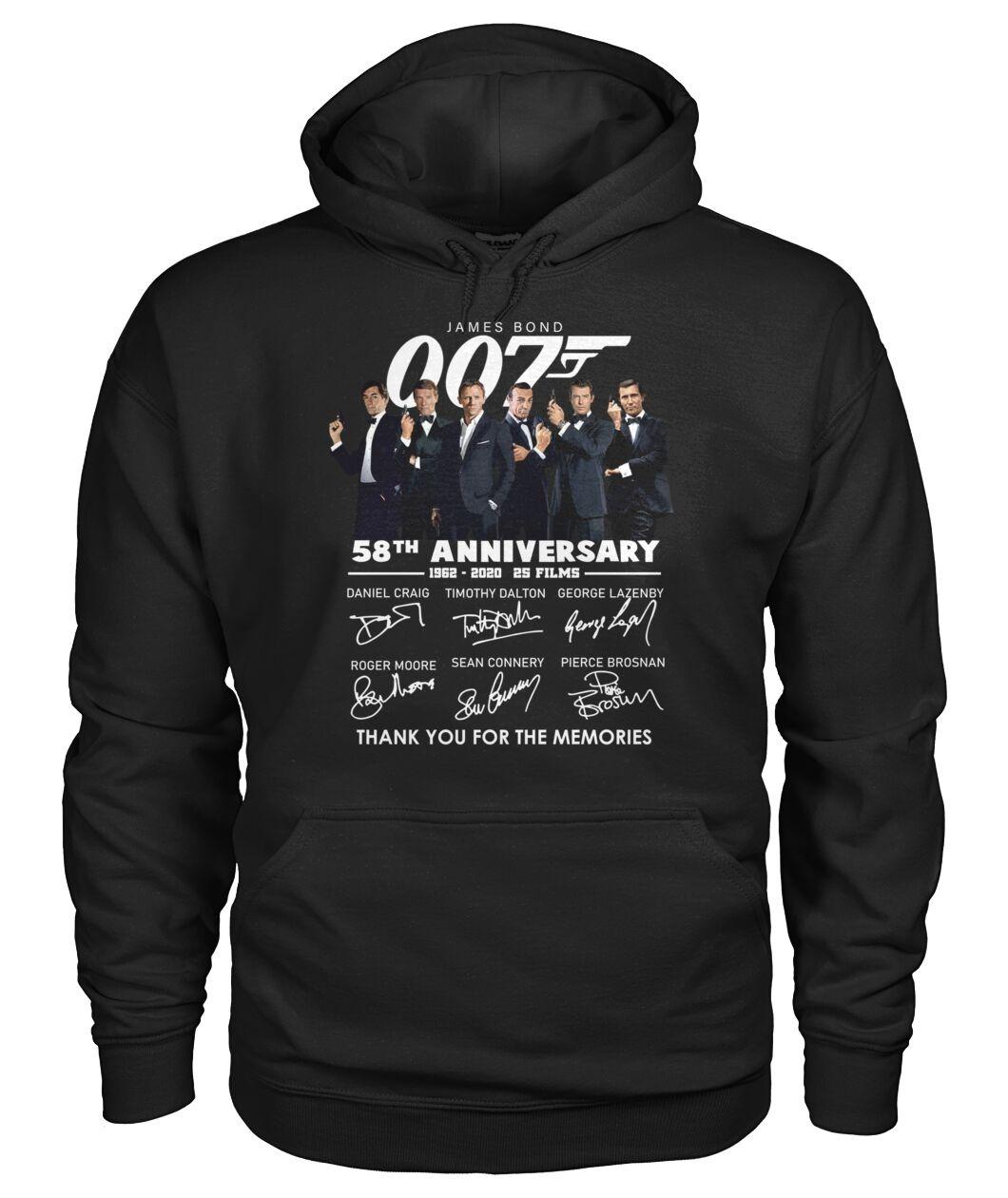 007 James Bond 58th Anniversary Hoodie
