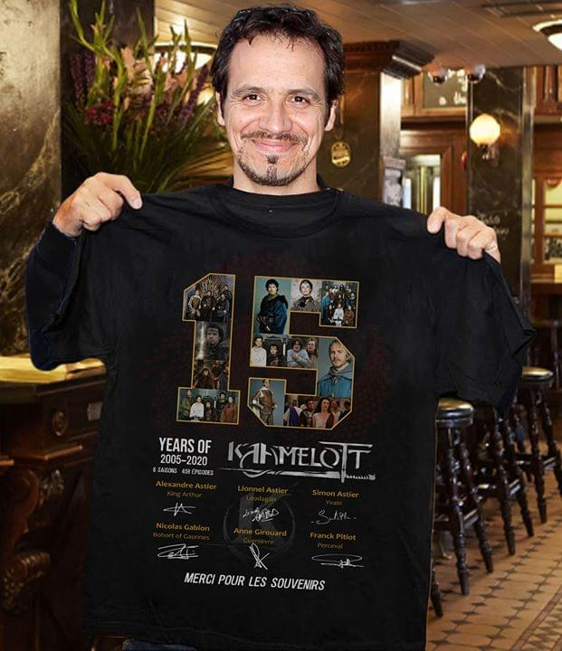 15 Years of Kamelot 2005-2020 shirt 0