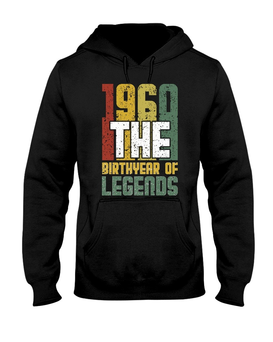 1960 - Birthyear of Legends Hoodie