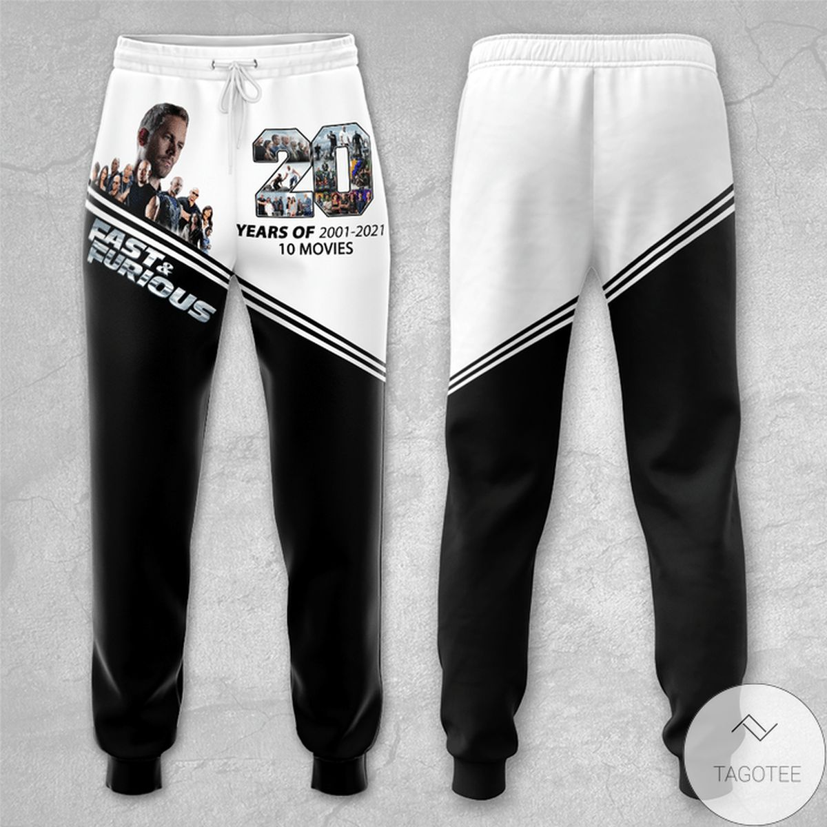 20 Years Of Fast And Furious Unisex Long Pants