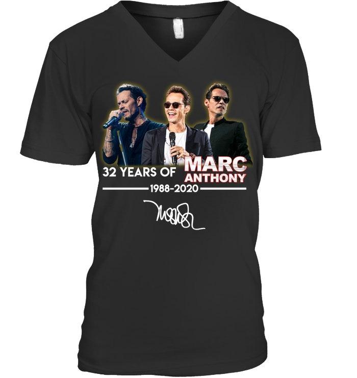 32 Years of Marc Anthony 1988-2020 V-neck