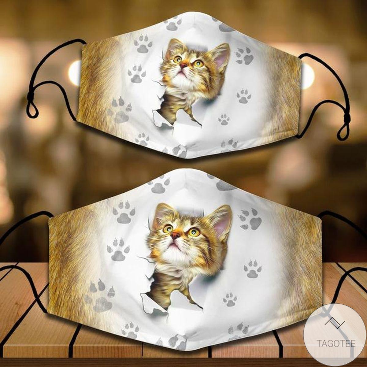 3D Cat Cloth Face Mask