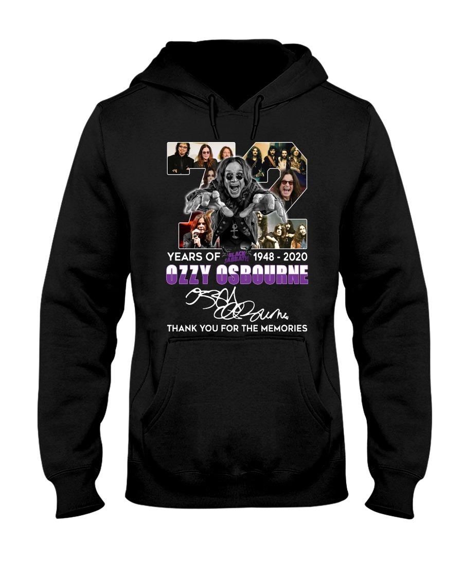 72 Years of Black Sabbath Ozzy Osbourne hoodie