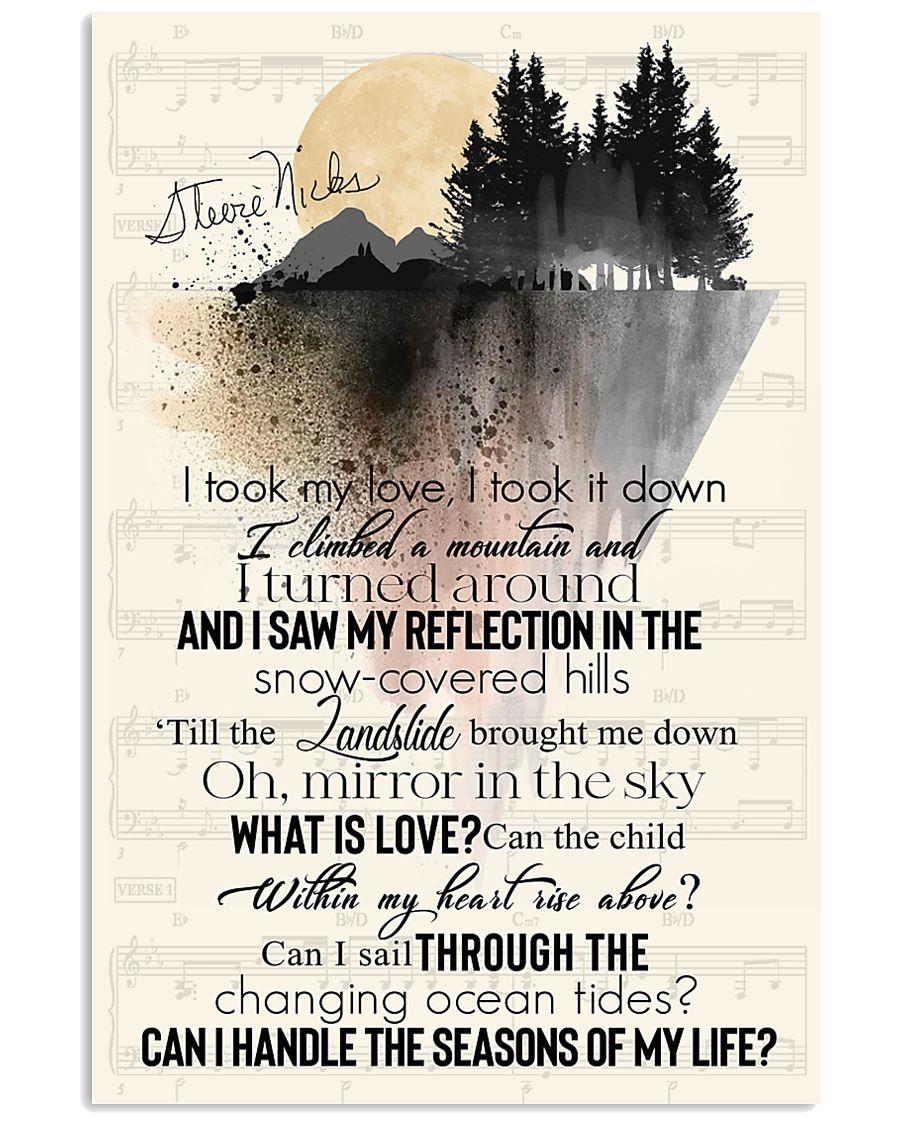 Landslide Lyrics I took my love, took it down poster1
