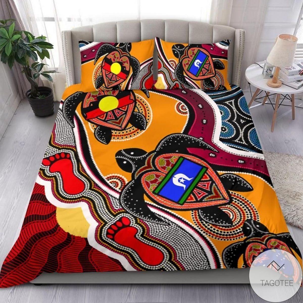 Aboriginal Australia Turtle Bedding Set