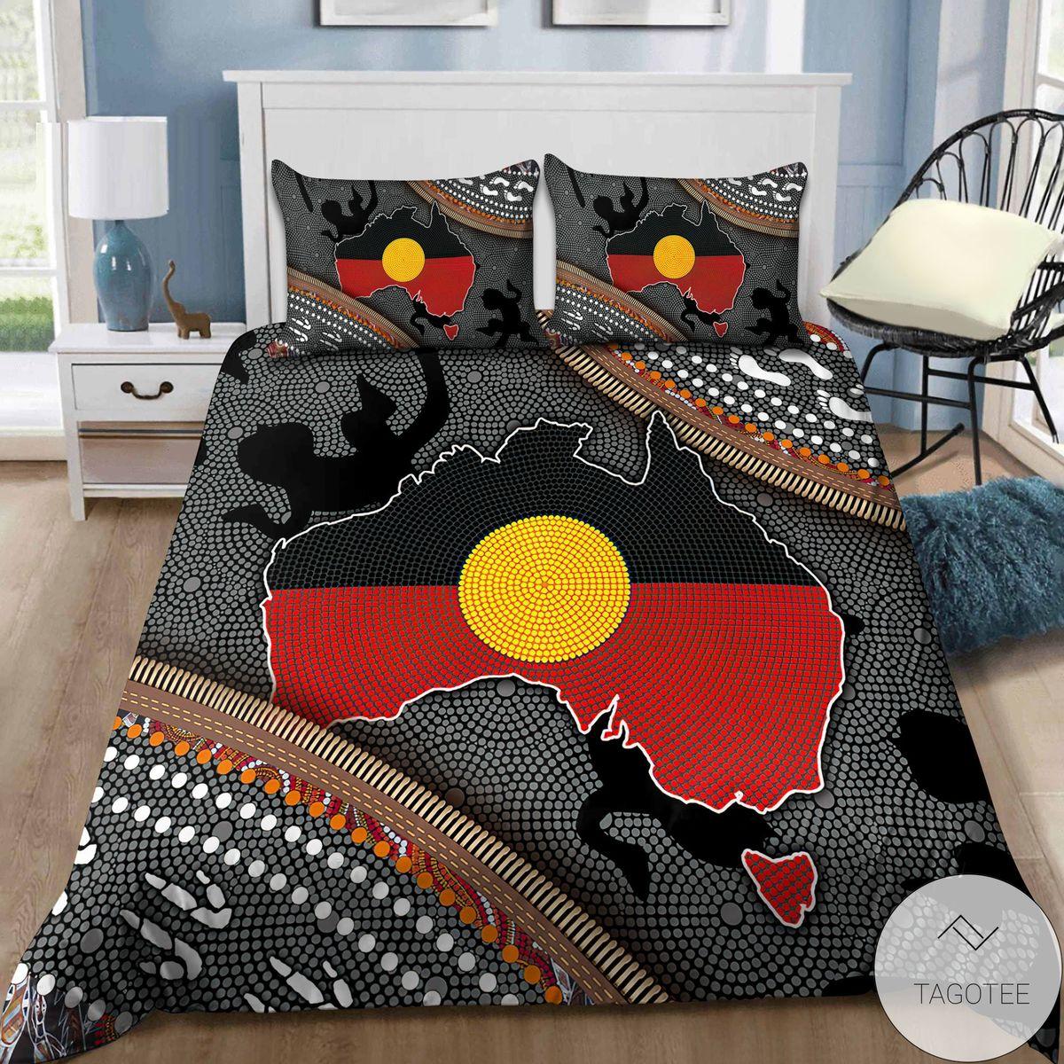 Official Aboriginal Dots Zip Pattern 3d Bedding Set