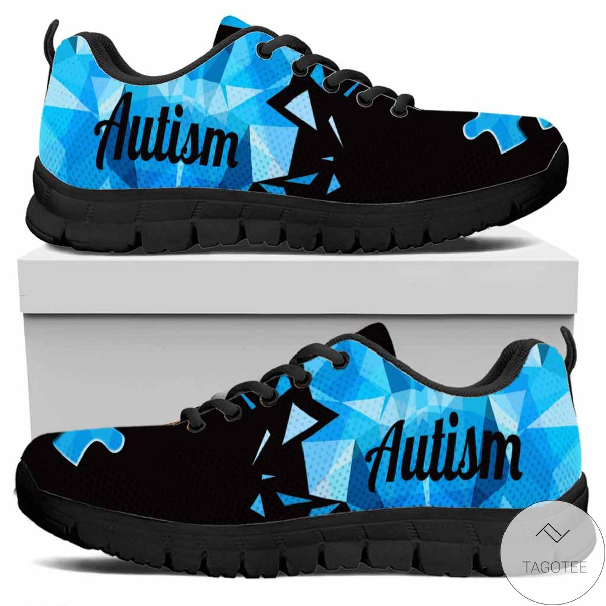 Beautiful Accept Understand Love - Autism Awareness Sneakers