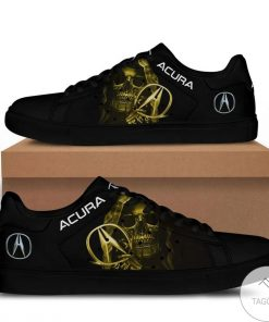 Acura Skull Yellow Stan Smith Shoes