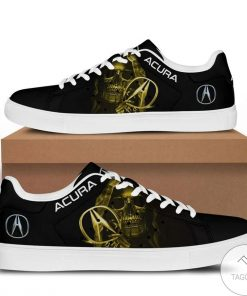 Only For Fan Acura Skull Yellow Stan Smith Shoes