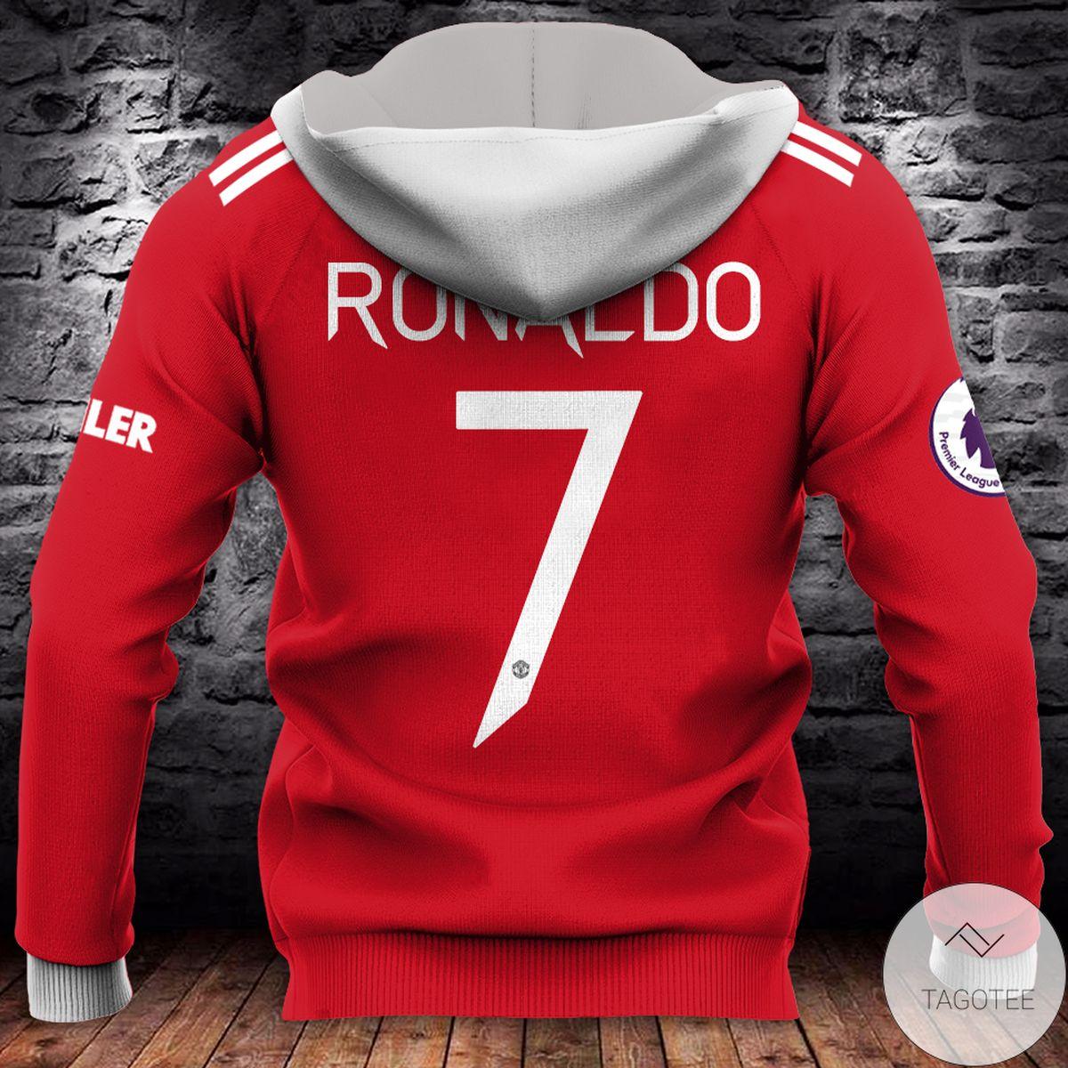 Print On Demand Adidas Manchester United Teamviewer 3d Hoodie