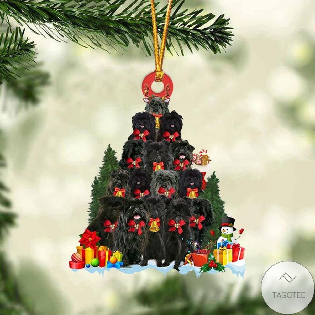 Affenpinscher Dog Christmas Tree Ornament