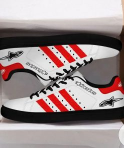 Alpinestar  Red Stan Smith Shoes