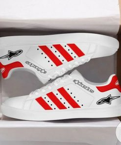 POD Alpinestar  Red Stan Smith Shoes