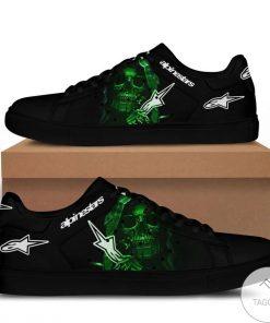 Alpinestar Skull Green Stan Smith Shoes