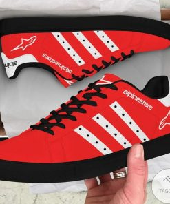 Alpinestars  Red Stan Smith Shoes