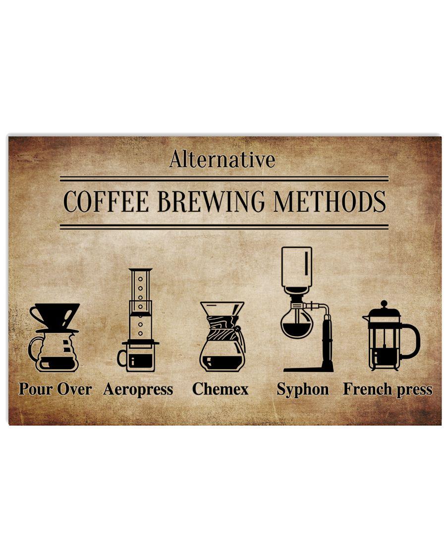 Alternative Coffee Brewing Methods Poster