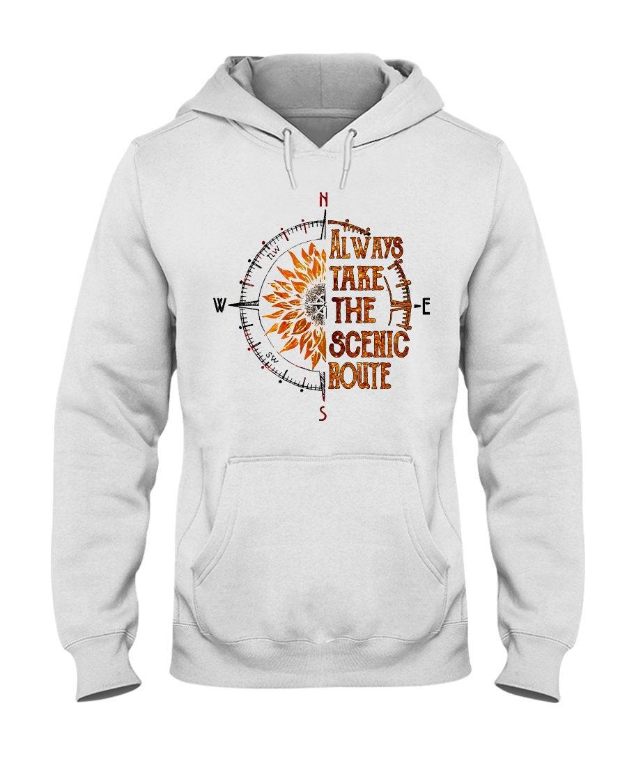 Always Takes The Scenic Route hoodie