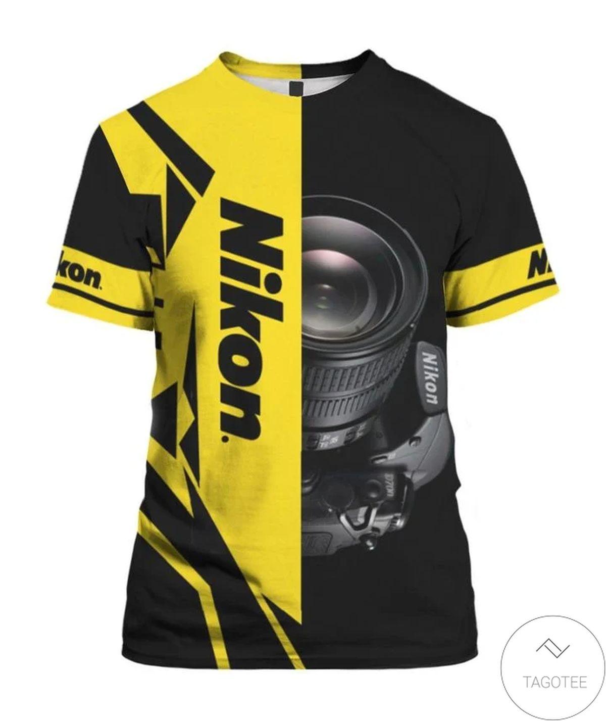 Amazing Nikon 3d Shirt