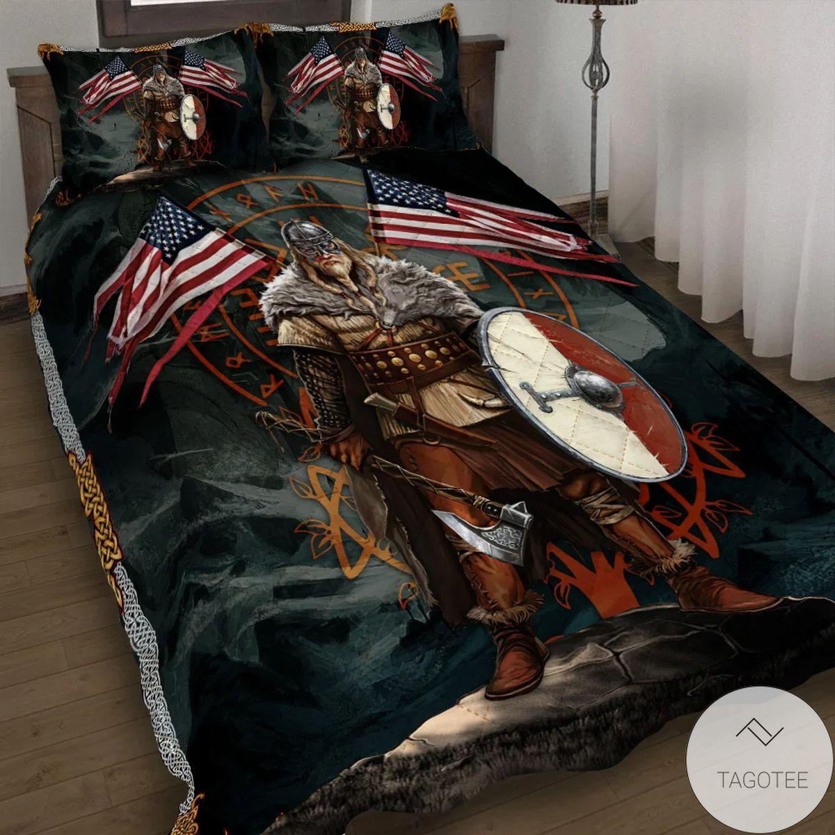 American Viking Quilt Bedding Set