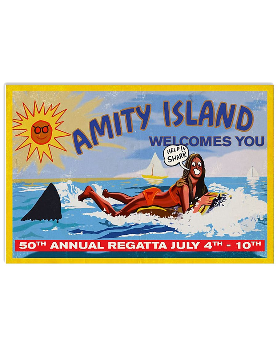 Amity Island Welcomes You Poster